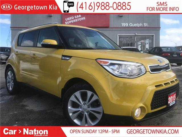 2015 Kia Soul EX+ | LOW KM'S | HTD SEATS | WIRELESS CONNECTIVITY (Stk: P11860) in Georgetown - Image 1 of 26