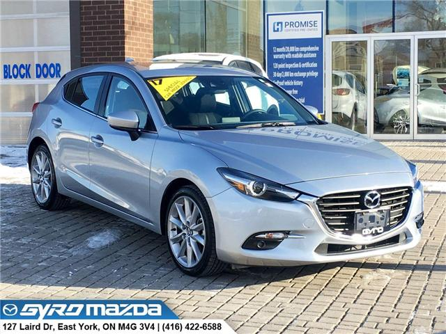 2017 Mazda Mazda3 GT (Stk: 28510A) in East York - Image 1 of 30
