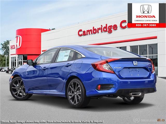 2019 Honda Civic Sport (Stk: 19526) in Cambridge - Image 4 of 24