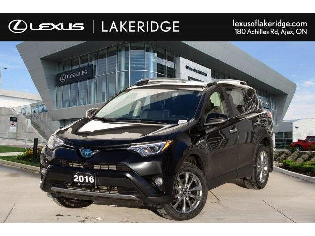 2016 Toyota RAV4 Hybrid Limited (Stk: LD9018A) in Toronto - Image 1 of 27