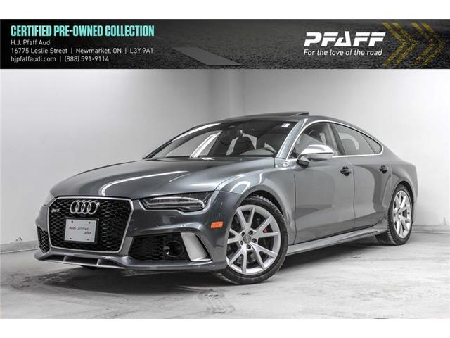 2016 Audi RS 7 4.0T (Stk: 53154) in Newmarket - Image 1 of 22