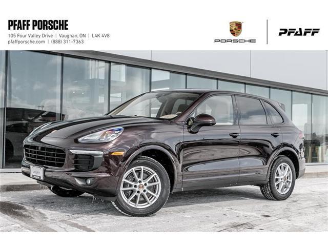 b6a86d811ab8 2018 Porsche Cayenne Platinum Edition (Stk  P12194) in Vaughan - Image 1 of