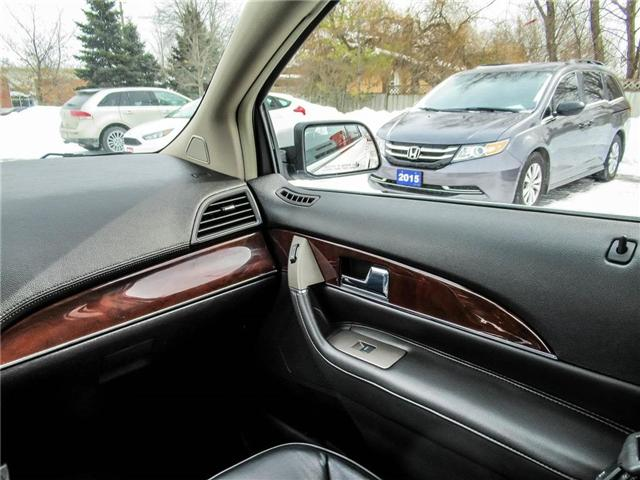 2015 Lincoln MKX Base (Stk: 19379A) in Milton - Image 16 of 27