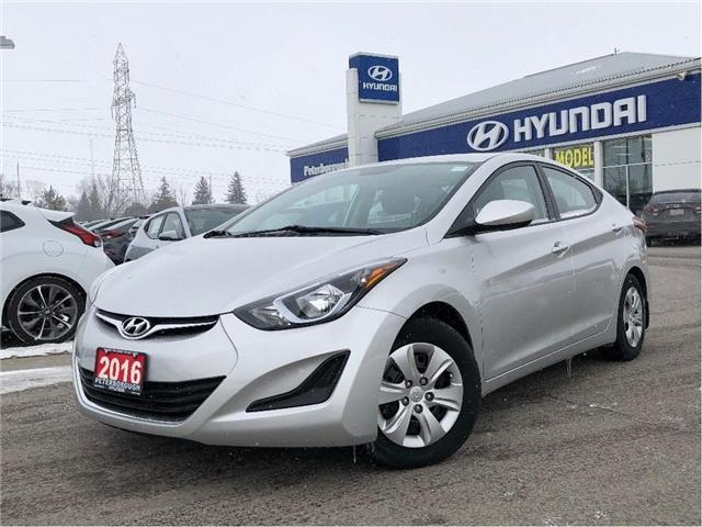 2016 Hyundai Elantra L (Stk: H11979A) in Peterborough - Image 1 of 18