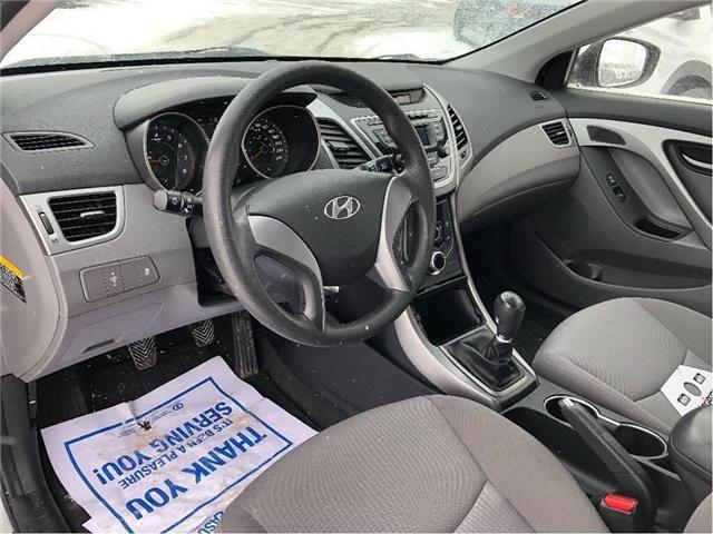 2016 Hyundai Elantra L (Stk: H11979A) in Peterborough - Image 11 of 18