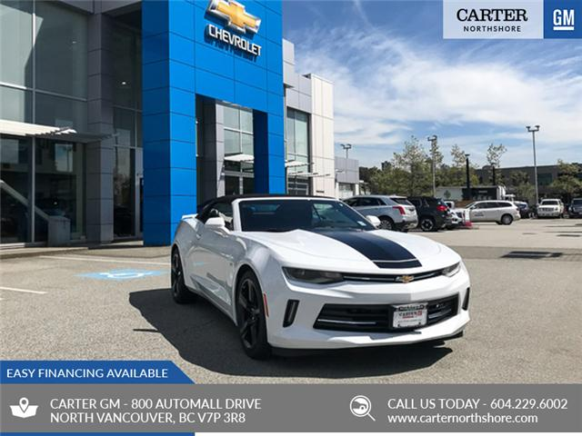 2018 Chevrolet Camaro 1LT (Stk: 8CA13040) in North Vancouver - Image 1 of 7