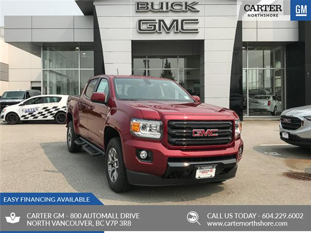 2018 GMC Canyon SLT (Stk: 8CN14710) in North Vancouver - Image 1 of 7