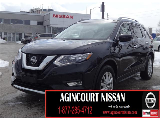 2018 Nissan Rogue SV (Stk: U12436R) in Scarborough - Image 1 of 21