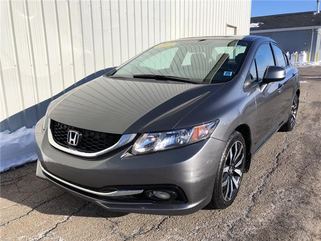 2013 Honda Civic Touring (Stk: N243A) in Charlottetown - Image 1 of 23