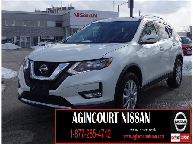 2018 Nissan Rogue SV (Stk: U12437R) in Scarborough - Image 1 of 21