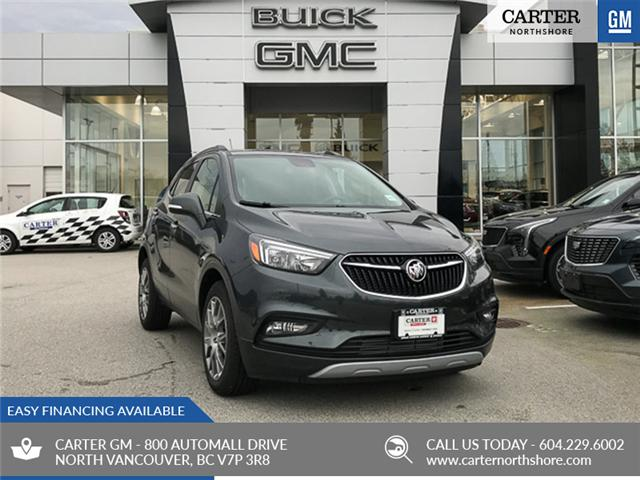 2018 Buick Encore Sport Touring (Stk: 8K0445T) in North Vancouver - Image 1 of 13