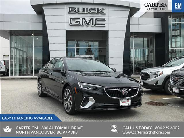 2018 Buick Regal Sportback GS (Stk: 8K43810) in North Vancouver - Image 1 of 7