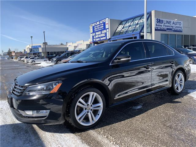 2013 Volkswagen Passat 2.5L Highline (Stk: ) in Concord - Image 1 of 17