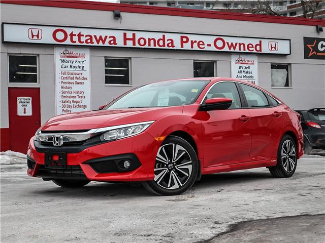 2018 Honda Civic EX-T (Stk: H7475-0) in Ottawa - Image 1 of 27