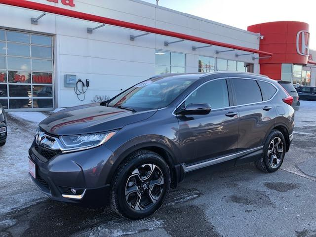 2019 Honda CR-V Touring (Stk: K1129) in Georgetown - Image 1 of 11
