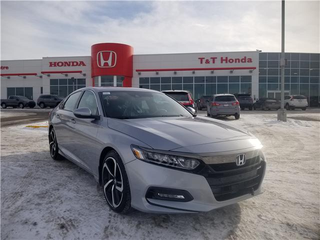 2019 Honda Accord Sport 1.5T (Stk: 2190591) in Calgary - Image 1 of 10