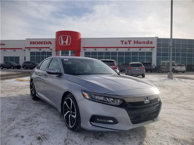2019 Honda Accord Sport 1.5T (Stk: 2190592) in Calgary - Image 1 of 10