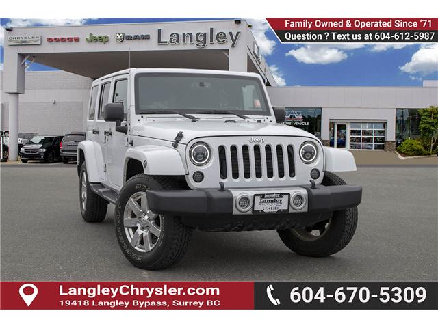 2015 Jeep Wrangler Unlimited Sahara (Stk: J886045A) in Surrey - Image 1 of 26