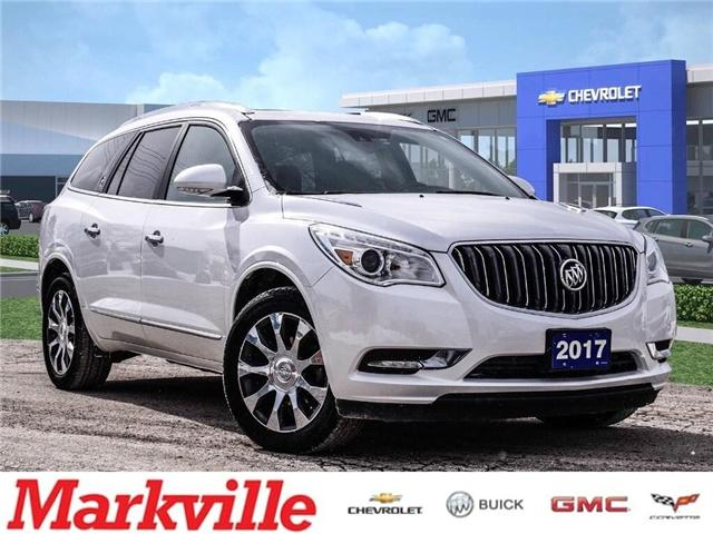 2017 Buick Enclave PREMIUM-AWD-GM CERTIFED PRE-OWNED-1 OWNER (Stk: 153986A) in Markham - Image 1 of 26