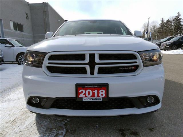 2018 Dodge Durango GT | NAV | HTD PWR LEATHER | REAR DVD | (Stk: DR77) in Brantford - Image 2 of 30