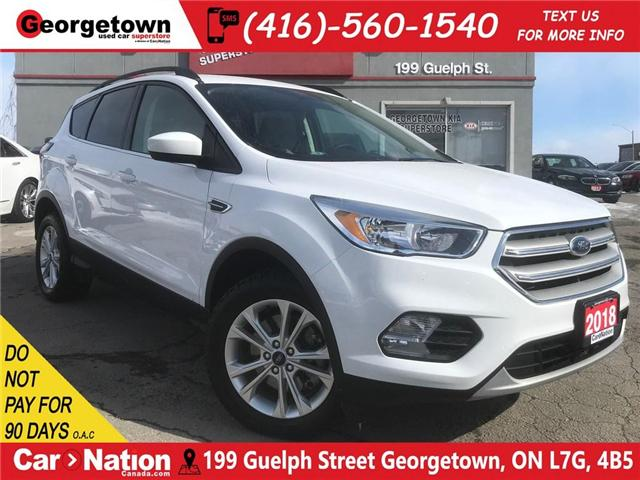 2018 Ford Escape SE B/U CAM| AWD| ECO BOOST| HTD SEATS| LOW KMS (Stk: GSP110) in Georgetown - Image 1 of 29