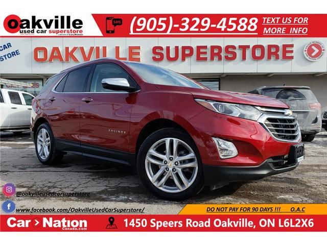 2018 Chevrolet Equinox PREMIER | APPLE CAR PLAY | PANO ROOF | NAV | LED (Stk: P11882) in Oakville - Image 1 of 25
