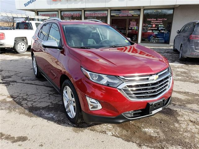 2018 Chevrolet Equinox PREMIER | APPLE CAR PLAY | PANO ROOF | NAV | LED (Stk: P11882) in Oakville - Image 2 of 25