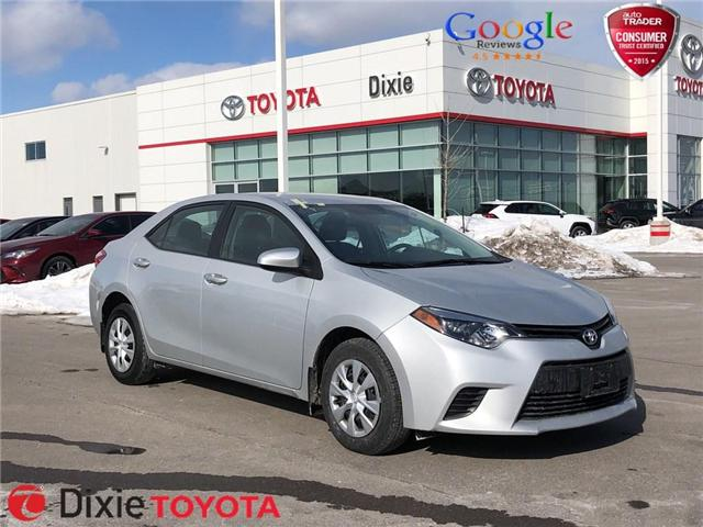 2014 Toyota Corolla CE (Stk: D190159A) in Mississauga - Image 1 of 16