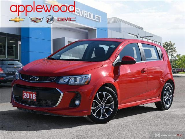 2018 Chevrolet Sonic LT Auto (Stk: 8612A) in Mississauga - Image 1 of 27