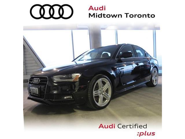 2016 Audi A4 2.0T Progressiv plus (Stk: P7169) in Toronto - Image 1 of 25
