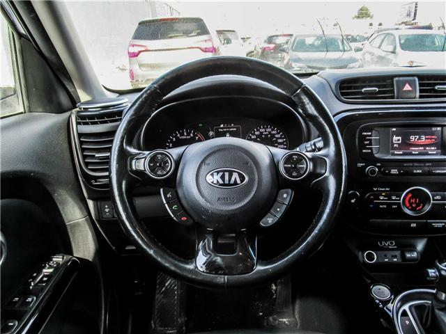 2014 Kia Soul Two-Tone Fathom Blue/White Special Edition at