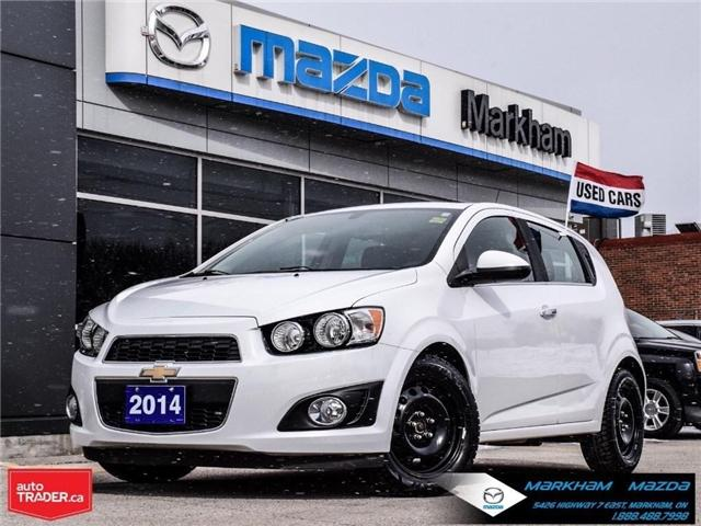 2014 Chevrolet Sonic LT Auto (Stk: N190289A) in Markham - Image 1 of 25