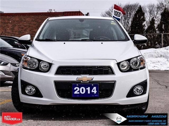 2014 Chevrolet Sonic LT Auto (Stk: N190289A) in Markham - Image 2 of 25