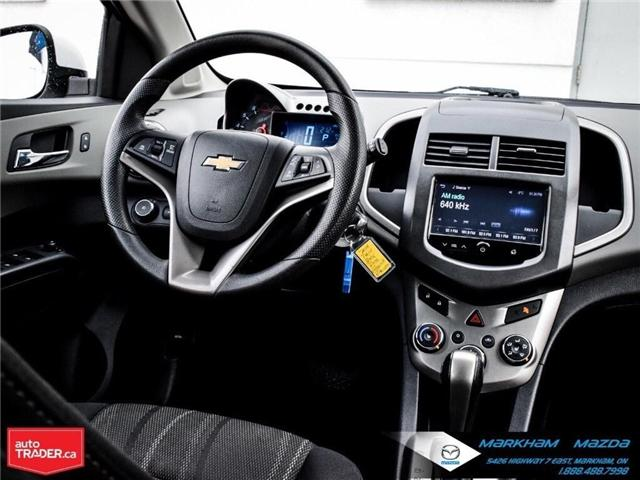 2014 Chevrolet Sonic LT Auto (Stk: N190289A) in Markham - Image 18 of 25