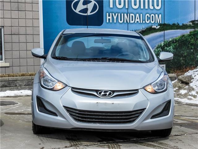 2014 Hyundai Elantra GL (Stk: U06422) in Toronto - Image 2 of 15