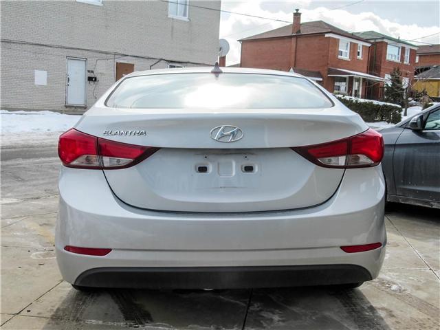 2014 Hyundai Elantra GL (Stk: U06422) in Toronto - Image 3 of 15