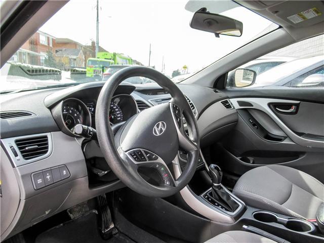 2014 Hyundai Elantra GL (Stk: U06422) in Toronto - Image 6 of 15
