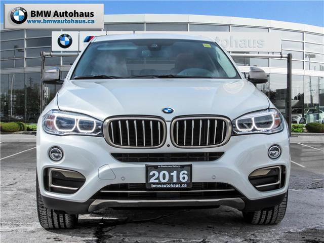 2016 BMW X6 xDrive35i (Stk: P8794) in Thornhill - Image 2 of 23