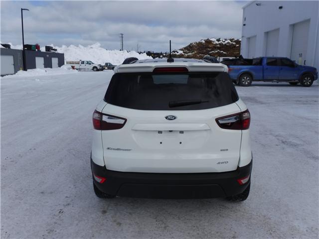 2019 Ford EcoSport SES (Stk: 19-32) in Kapuskasing - Image 4 of 13