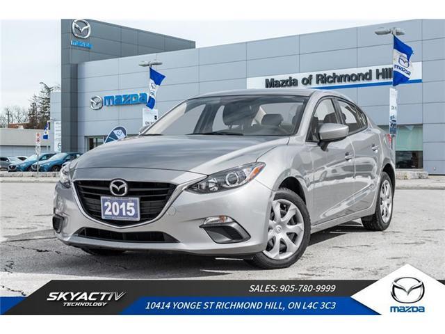 2015 Mazda Mazda3 GX (Stk: P0364) in Richmond Hill - Image 1 of 17