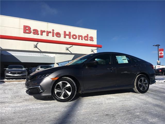 2019 Honda Civic LX (Stk: 19730) in Barrie - Image 1 of 6