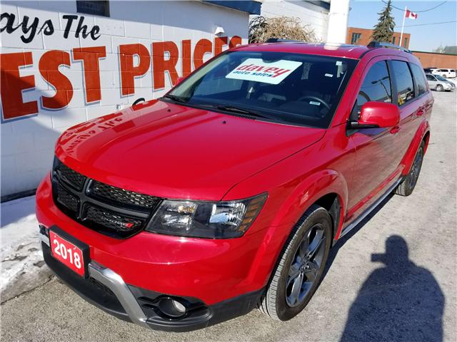 2018 Dodge Journey Crossroad (Stk: 19-125A) in Oshawa - Image 1 of 17