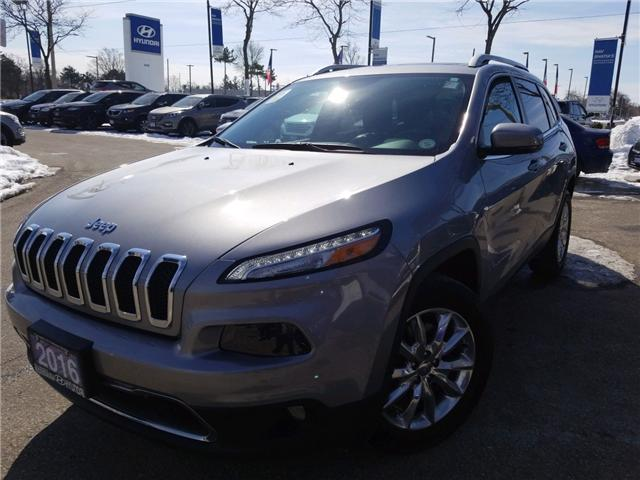 2016 Jeep Cherokee Limited (Stk: 38240A) in Mississauga - Image 1 of 20