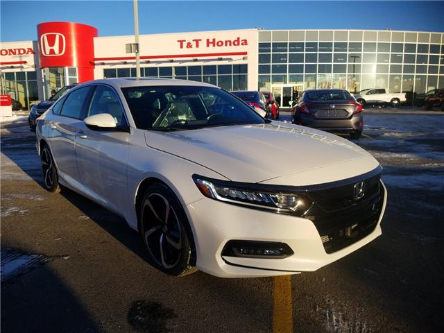 2019 Honda Accord Sport 1.5T (Stk: 2190629) in Calgary - Image 1 of 8