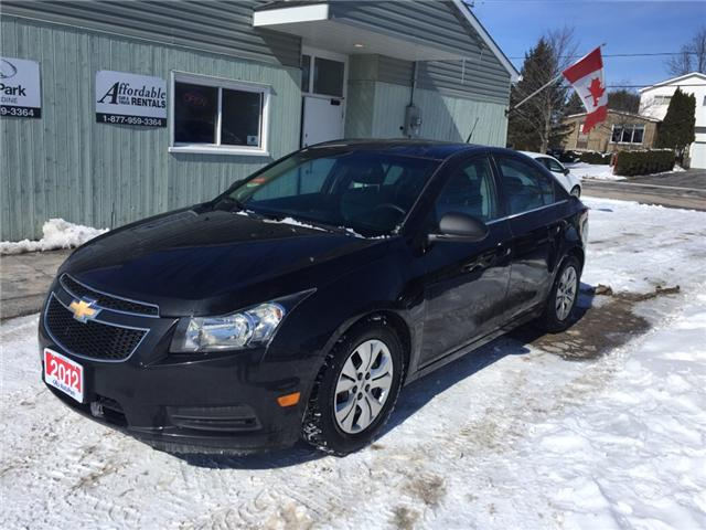 2012 Chevrolet Cruze LS (Stk: ) in Kincardine - Image 1 of 13