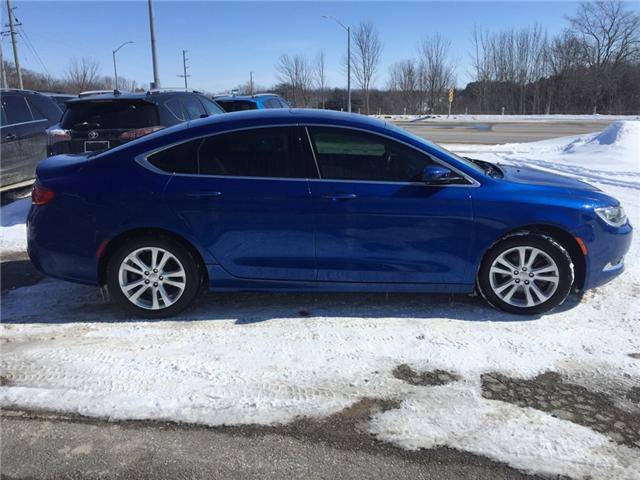 2015 Chrysler 200 Limited (Stk: -) in Kincardine - Image 6 of 13