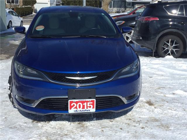 2015 Chrysler 200 Limited (Stk: -) in Kincardine - Image 8 of 13