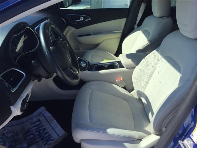 2015 Chrysler 200 Limited (Stk: -) in Kincardine - Image 12 of 13