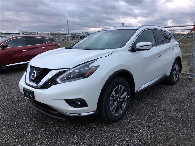 2018 Nissan Murano SL (Stk: 18765) in Barrie - Image 1 of 4