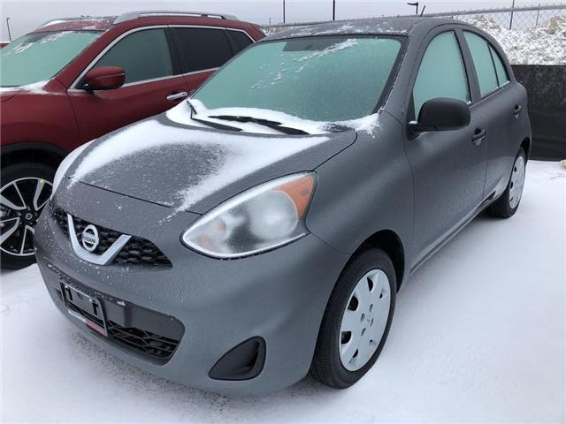 2019 Nissan Micra S (Stk: 19176) in Barrie - Image 1 of 3